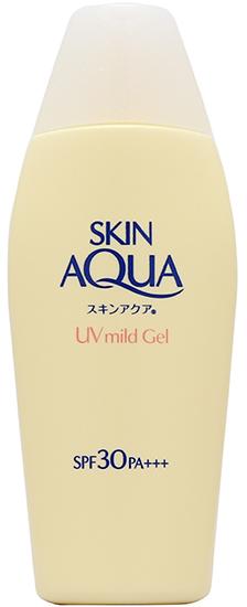 hot humid skincare essentials Sunplay Skin Aqua UV Mild Gel SPF 30 PA+++