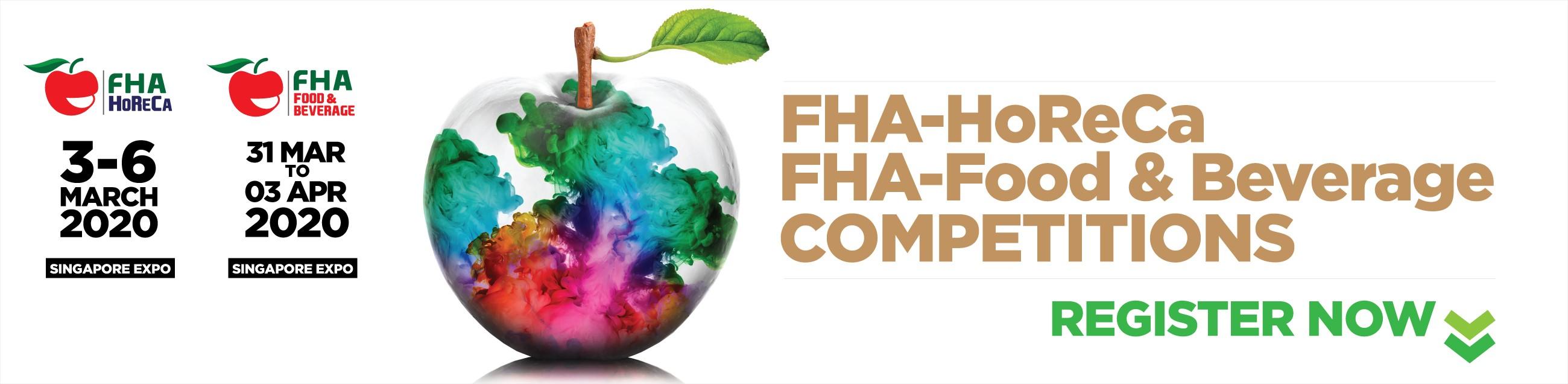FHA-HoReCa and FHA-Food & Beverage Competitions 2020 | Judgify