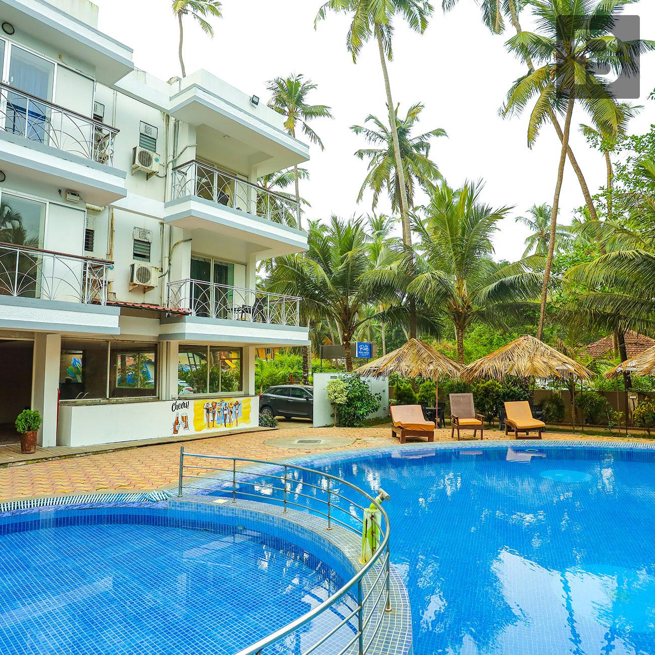 Beyond Stay Reefs Beach Resort, Goa