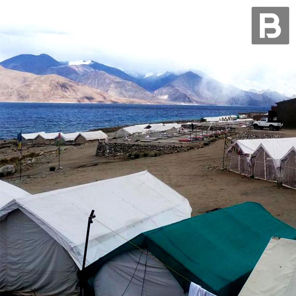 Beyond Stay Norling Camp, Pangong