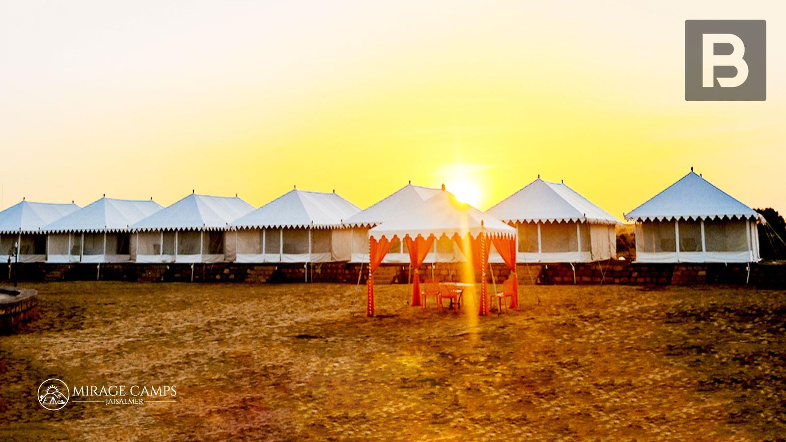 Beyond Stay Mirage Camps, Jaisalmer