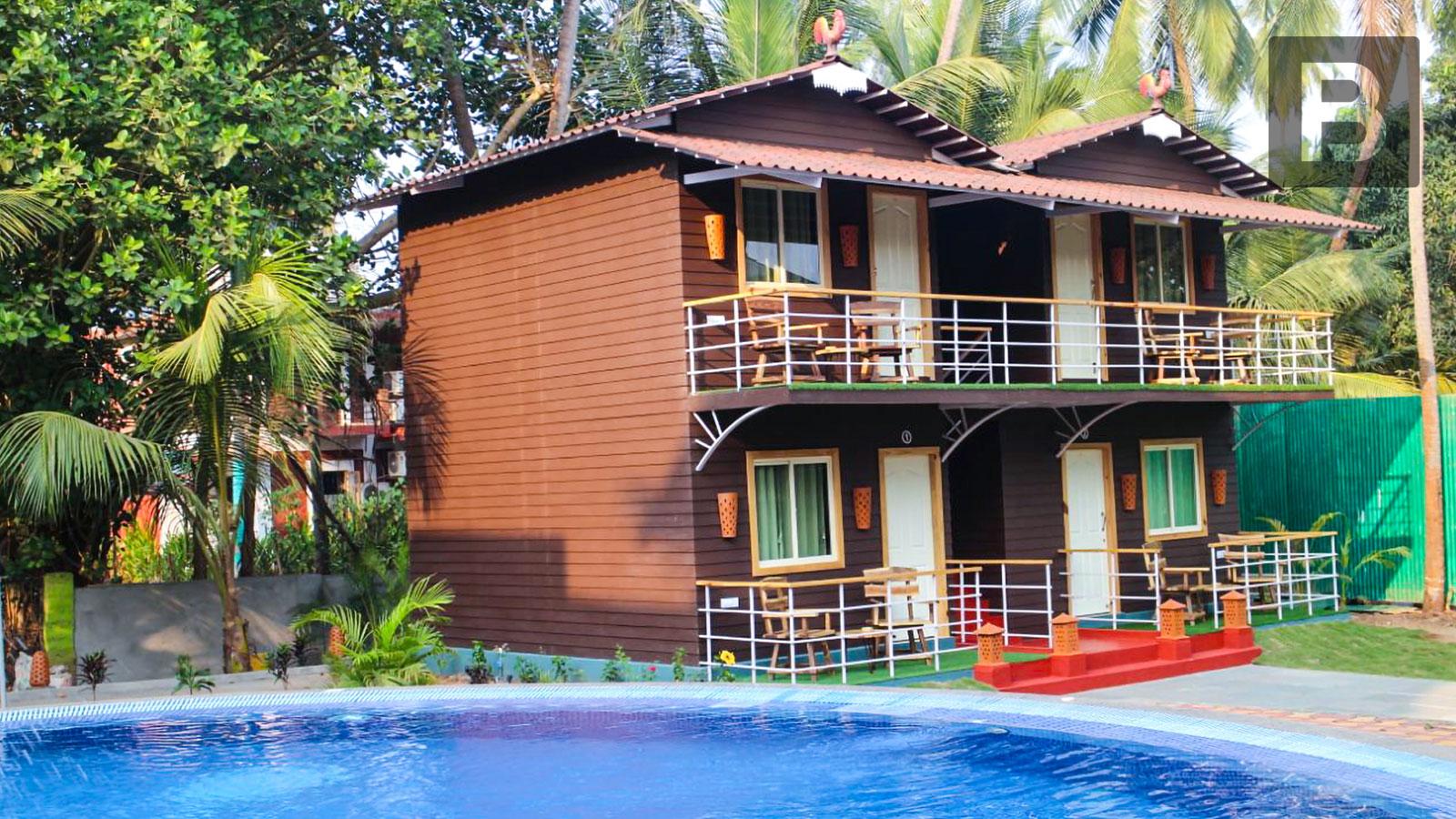 Beyond Stay Gulmohar Cottages, Goa