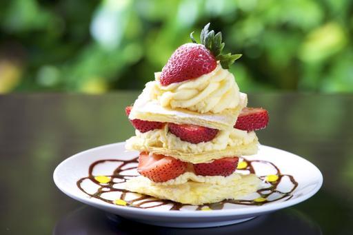 法式草莓千層派