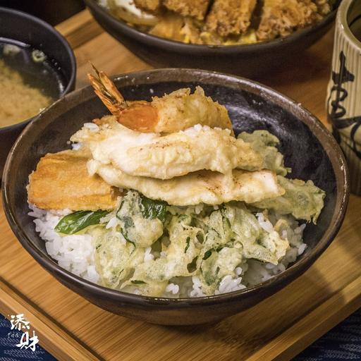 天婦羅蓋飯 天ぷら丼