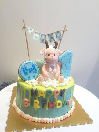專屬男寶寶蛋糕