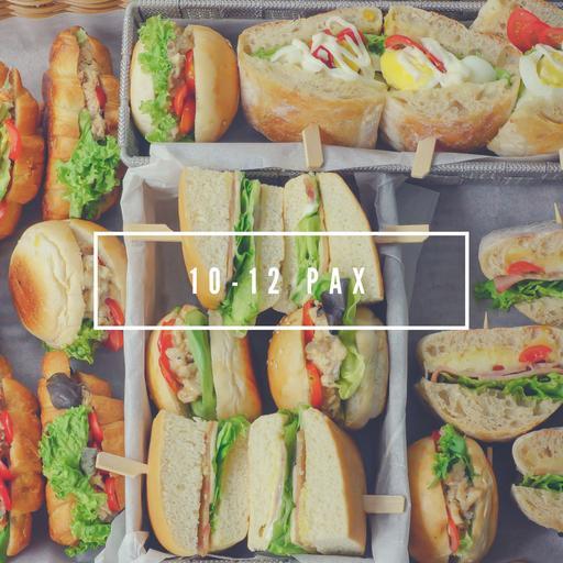 10-12 Pax Serving Sandwich Platter