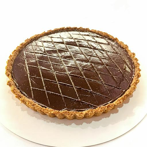 Chocolate Cardamon Coffee Tart - RECOMMENDED
