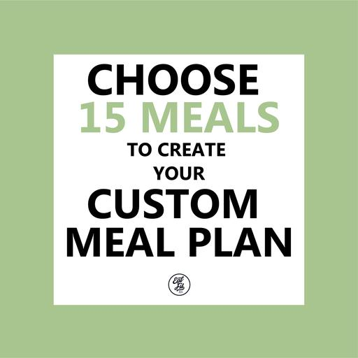 15 meals for 1 week