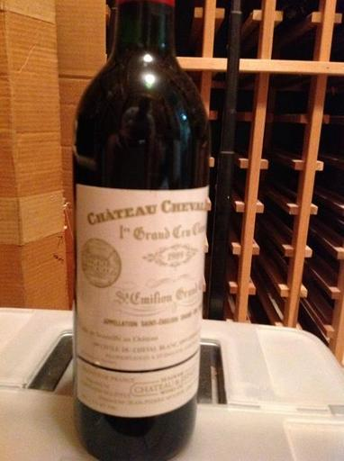 1988 Chateau Cheval Blanc Bordeaux - 93 pts - 750ml
