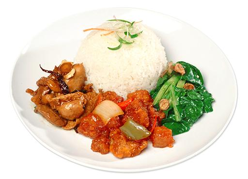 1 Veg 2 Meat 1菜2肉