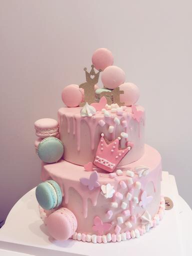 小皇冠雙層蛋糕