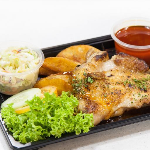 20182 Hainanese Grilled Chicken Chop