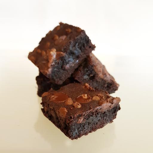 25 Mini Chocolate Chips Brownies