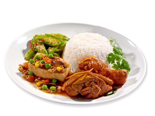 2 Veg 2 Meat   2菜2肉