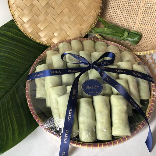 30 pcs Kueh Dadar Bamboo Platter