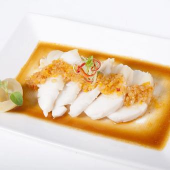 311 Atlantic Cod with Salted Turnip 菜莆蒸鳕鱼