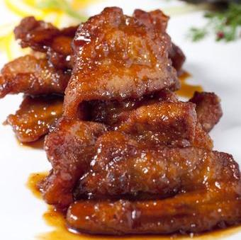 405 Pan Fried Kurobuta Pork 香煎黑豚肉