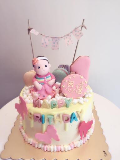 專屬女寶寶蛋糕