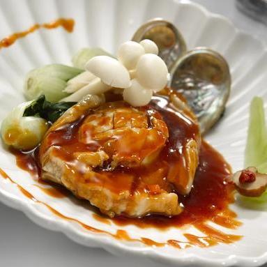 509 Braised Whole Abalone 红烧原只鲍鱼