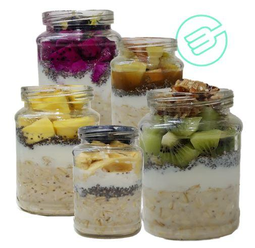 5 Days Cleanbites Overnight Oats Package