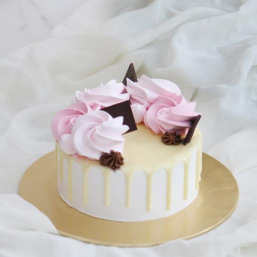 """5"""" Rose Cake"""