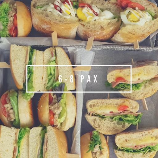 6-8 Pax Serving Sandwich Platter