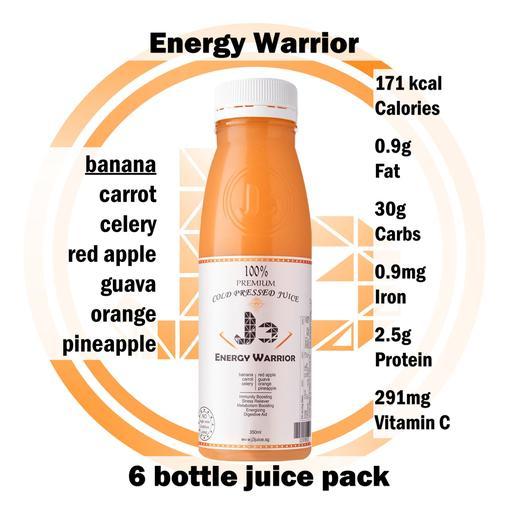 6 x Energy Warrior