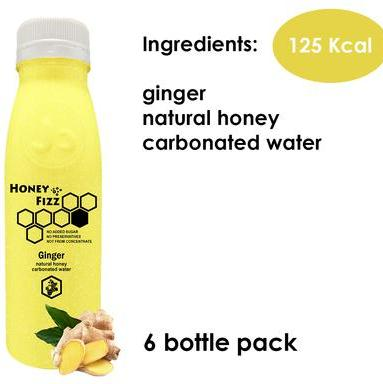 6 x Ginger Honey Fizz