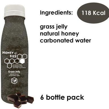 6 x Grass Jelly Honey Fizz