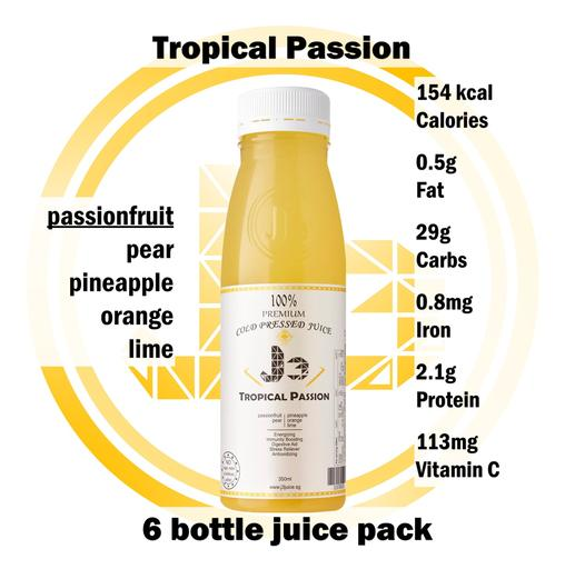 6 x Tropical Passion