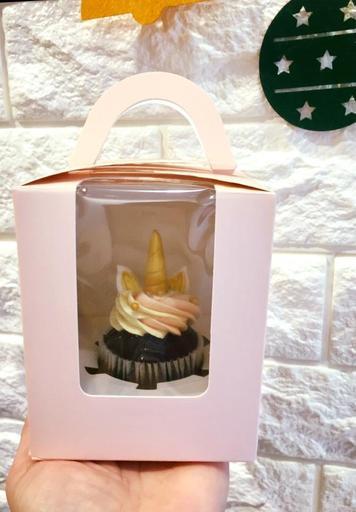 單一杯子蛋糕盒裝
