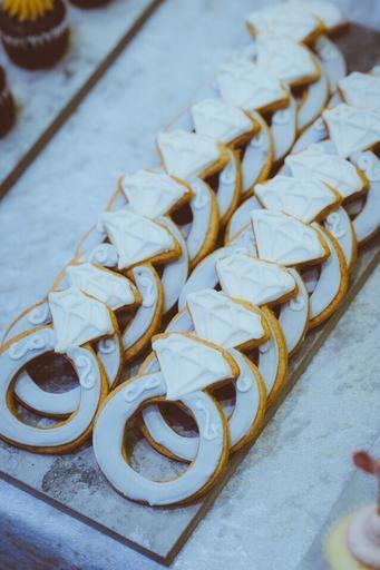 婚禮糖霜餅乾