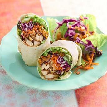 Asian Bite Wrap