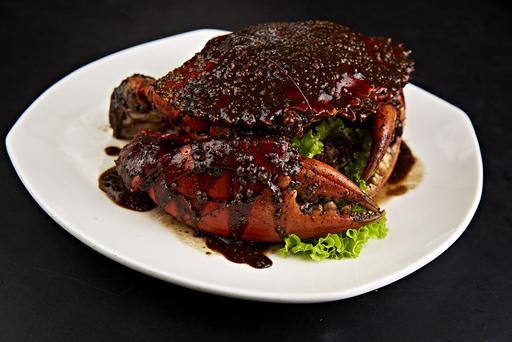 Award-Winning Black Pepper Crab