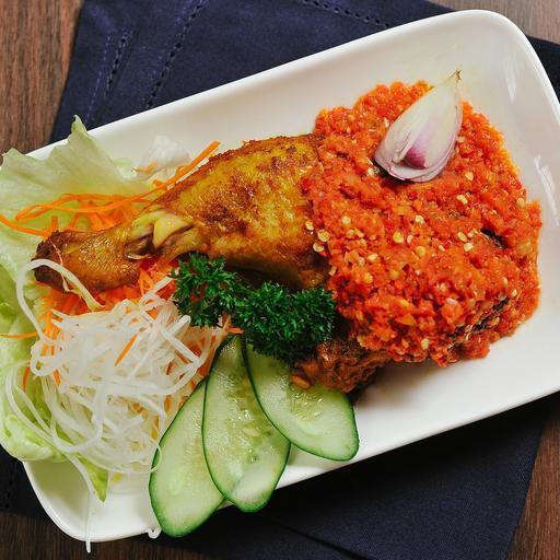 Ayam Bakar Sambal Balado