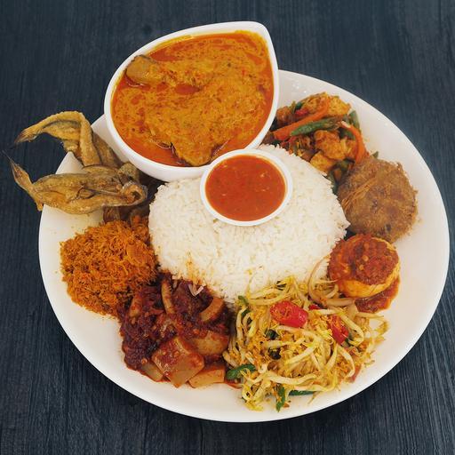 B1 Solo Ambeng (Chicken Lemak Chilli Padi Set)