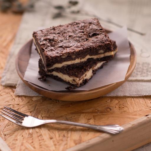 Brown cow brownie