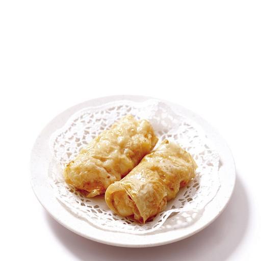 Beancurd Prawn Roll 鲜虾付皮卷 (1pcs)