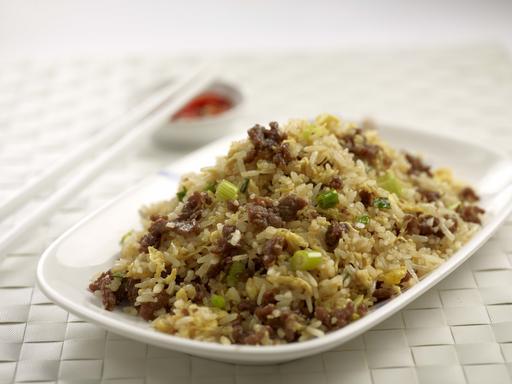 Beef Fried Rice (牛肉炒饭)