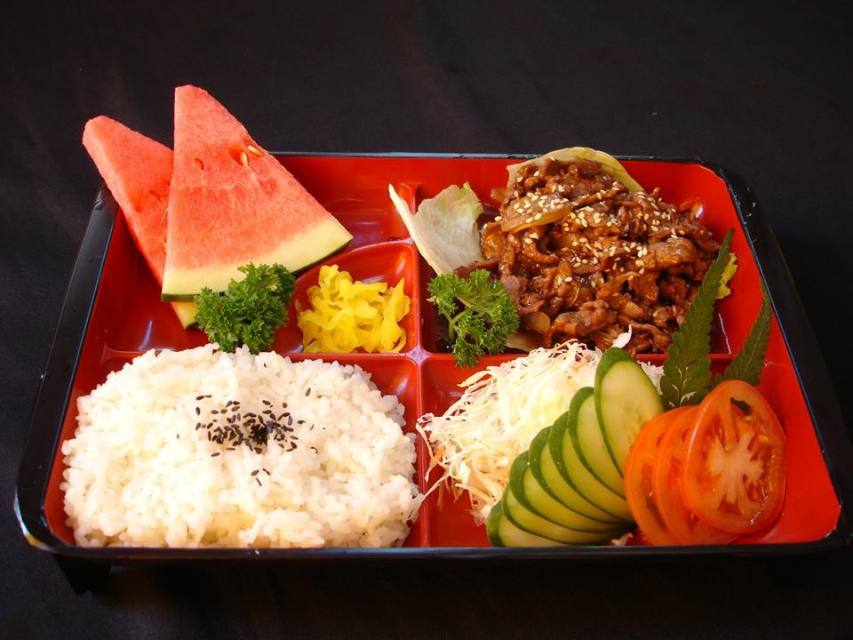 Beef Teriyaki Set (日式牛肉饭盒)