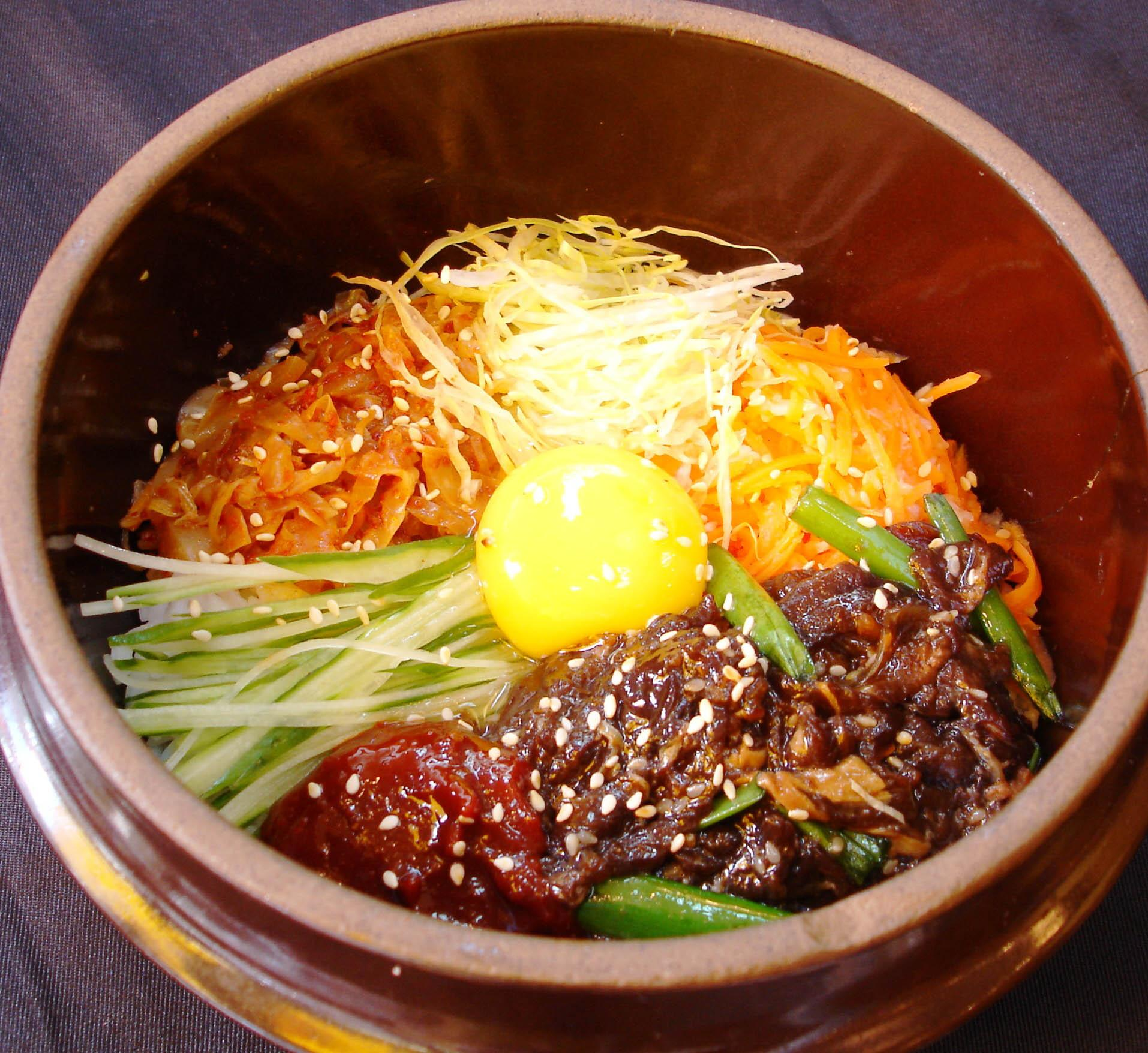 Bibimbap Beef (韩式牛肉拌饭)