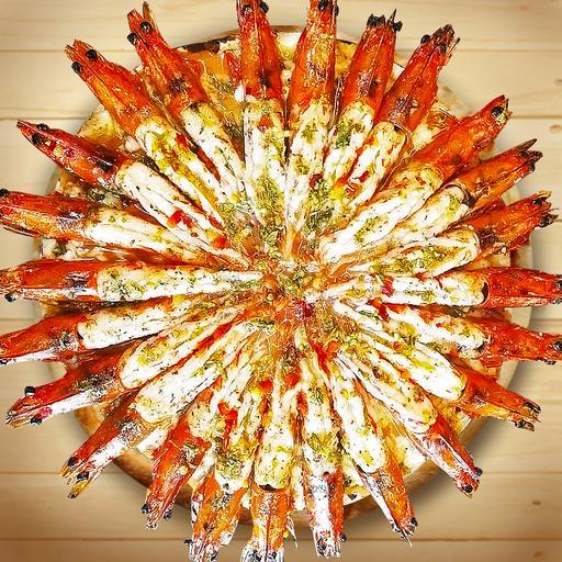 煙火披薩(需前一天預購)Big Shrimp triple (One day in advance purchasing notice)
