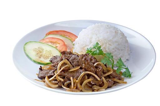 Black Pepper Beef Rice 黑椒鹿肉饭