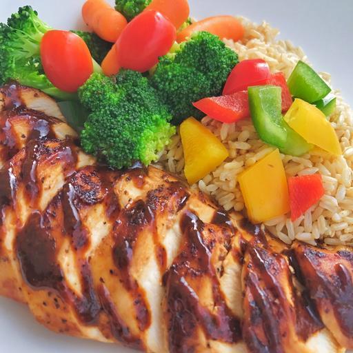 Black Pepper Chicken (Cals:453.7 P:59.9g C:42.5g F:4.9g)