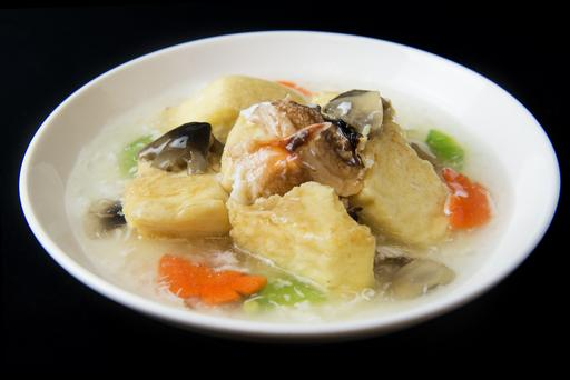 Braised Beancurd with Fresh Crab Meat 鲜蟹肉扒豆腐