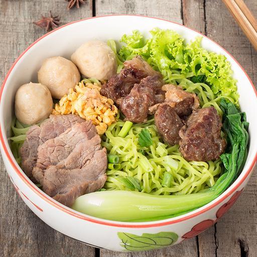 Braised Beef Noodles (Dry)