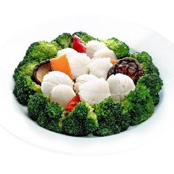 Broccoli with scallop 西兰花带子