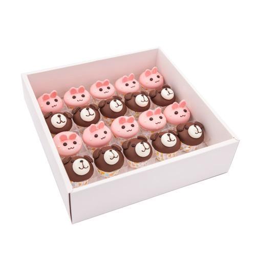 Bunny & Dog Cupcakes