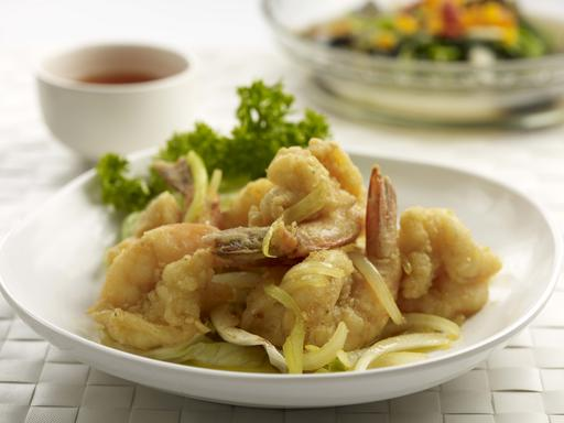 Butter Prawns (牛油虾球)