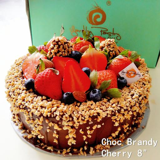 CHOC BRANDY CHERRY (Not recommended delivery)